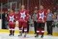 В Челябинске в рамках открытия нового сезона Ночной хоккейной лиги прошел матч с участием легендарных ветеранов отечественного хоккея и любительской сборной Урала